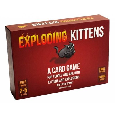 ALLIANCE GAMES EXPLODING KITTENS GAME