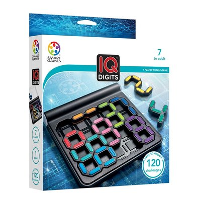 SMART GAMES IQ DIGITS PUZZLE GAME