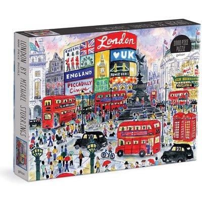 GALISON MICHAEL STORRINGS LONDON PUZZLE 1000 PC