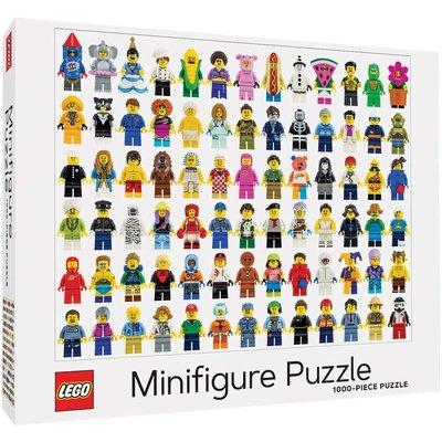 CHRONICLE PUBLISHING LEGO MINIFIGURE PUZZLE 1000 PC