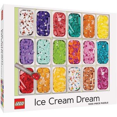 CHRONICLE PUBLISHING LEGO ICE CREAM DREAM PUZZLE 1000 PIECE