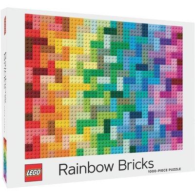 CHRONICLE PUBLISHING LEGO RAINBOW BRICKS PUZZLE 1000 PC