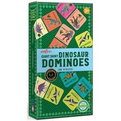 EEBOO GIANT SHINY DINOSAUR DOMINOES