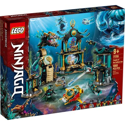 LEGO TEMPLE OF THE ENDLESS SEA