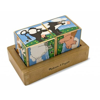 MELISSA AND DOUG FARM SOUND BLOCKS