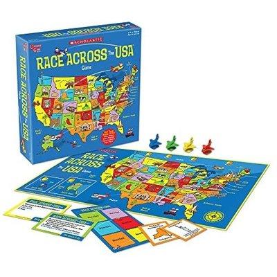 UNIVERSITY GAMES RACE ACROSS USA GAME