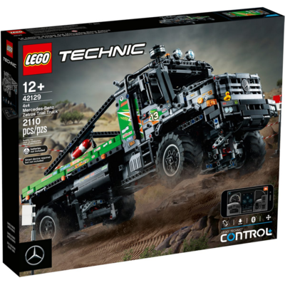 LEGO APP-CONTROLLED 4X4 MERCEDES-BENZ ZETROS TRIAL TRUCK