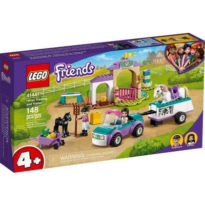 LEGO HORSE TRAINING AND TRAILER