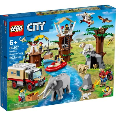 LEGO WILDLIFE RESCUE CAMP