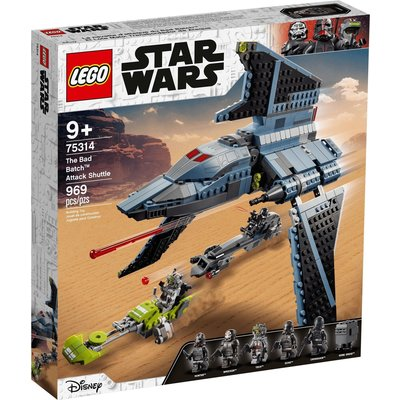 LEGO THE BAD BATCH ATTACK SHUTTLE