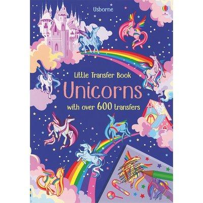 EDC PUBLISHING LITTLE TRANSFER BOOK: UNICORNS