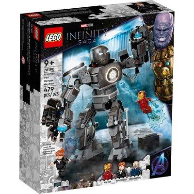 LEGO IRON MAN: IRON MONGER MAYHEM