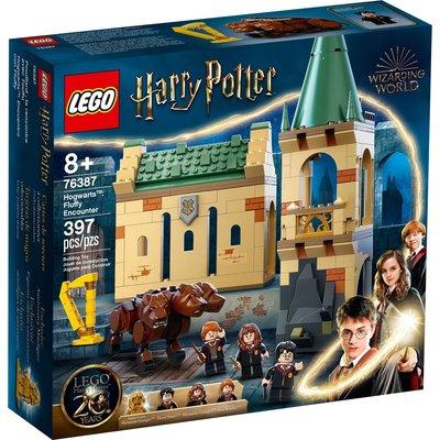 LEGO HOGWARTS FLUFFY ENCOUNTER