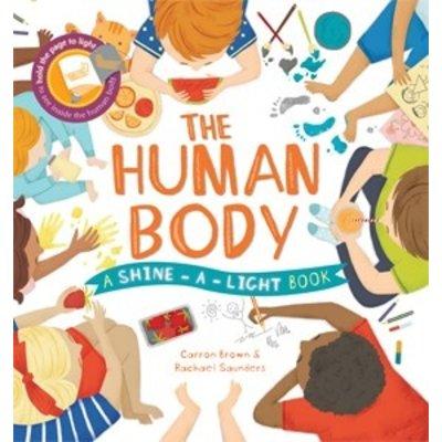 EDC PUBLISHING THE HUMAN BODY: A SHINE-A-LIGHT BOOK