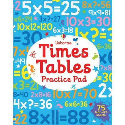 EDC PUBLISHING TIMES TABLES PRACTICE PAD