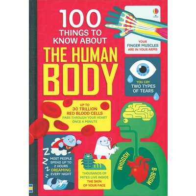 EDC PUBLISHING 100 THINGS TO KNOW ABOUT THE HUMAN BODY