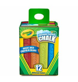 CRAYOLA LLC 12 SIDEWALK CHALK BOX CRAYOLA