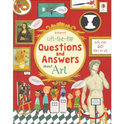 EDC PUBLISHING LIFT-THE-FLAP QUESTIONS AND ANSWERS ABOUT ART