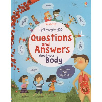 EDC PUBLISHING LIFT-THE-FLAP QUESTIONS AND ANSWERS ABOUT YOUR BODY