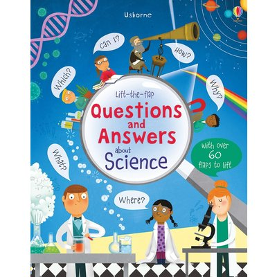 EDC PUBLISHING LIFT-THE-FLAP QUESTIONS AND ANSWERS ABOUT SCIENCE