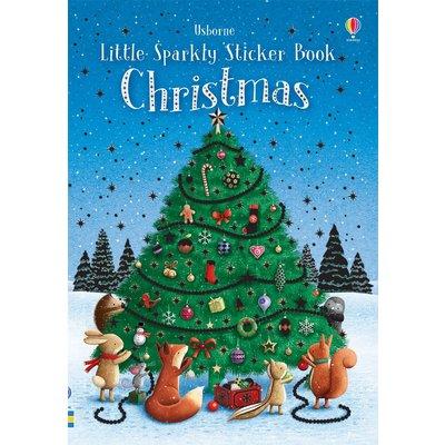 EDC PUBLISHING LITTLE SPARKLY STICKER BOOK CHRISTMAS