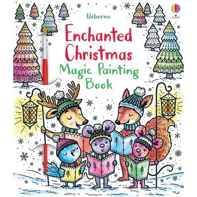 EDC PUBLISHING MAGIC PAINTING BOOK, ENCHANTED CHRISTMAS