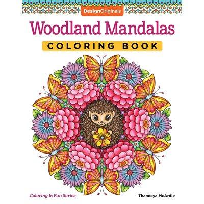 FOX CHAPEL PUBLISHING WOODLAND MANDALAS COLORING BOOK