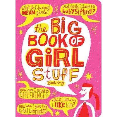 GIBBS SMITH THE BIG BOOK OF GIRL STUFF
