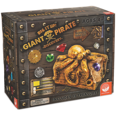 MINDWARE DIG IT UP! GIANT PIRATE DISCOVERY