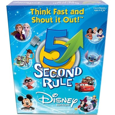 5 SECOND RULE 5 SECOND RULE DISNEY EDITION