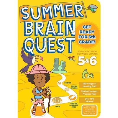 WORKMAN PUBLISHING SUMMER BRAIN QUEST: BETWEEN GRADES 5 & 6