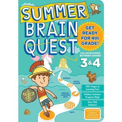 WORKMAN PUBLISHING SUMMER BRAIN QUEST: BETWEEN GRADES 3 & 4