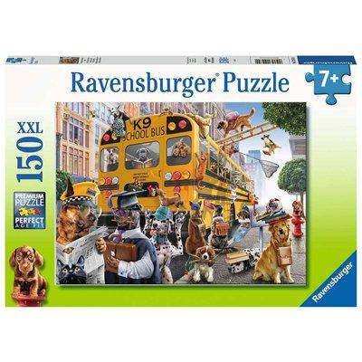 RAVENSBURGER USA PET SCHOOL PALS 150 PIECE PUZZLE