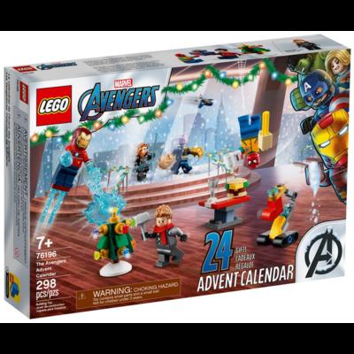 LEGO LEGO MARVEL THE AVENGERS ADVENT CALENDAR 2021
