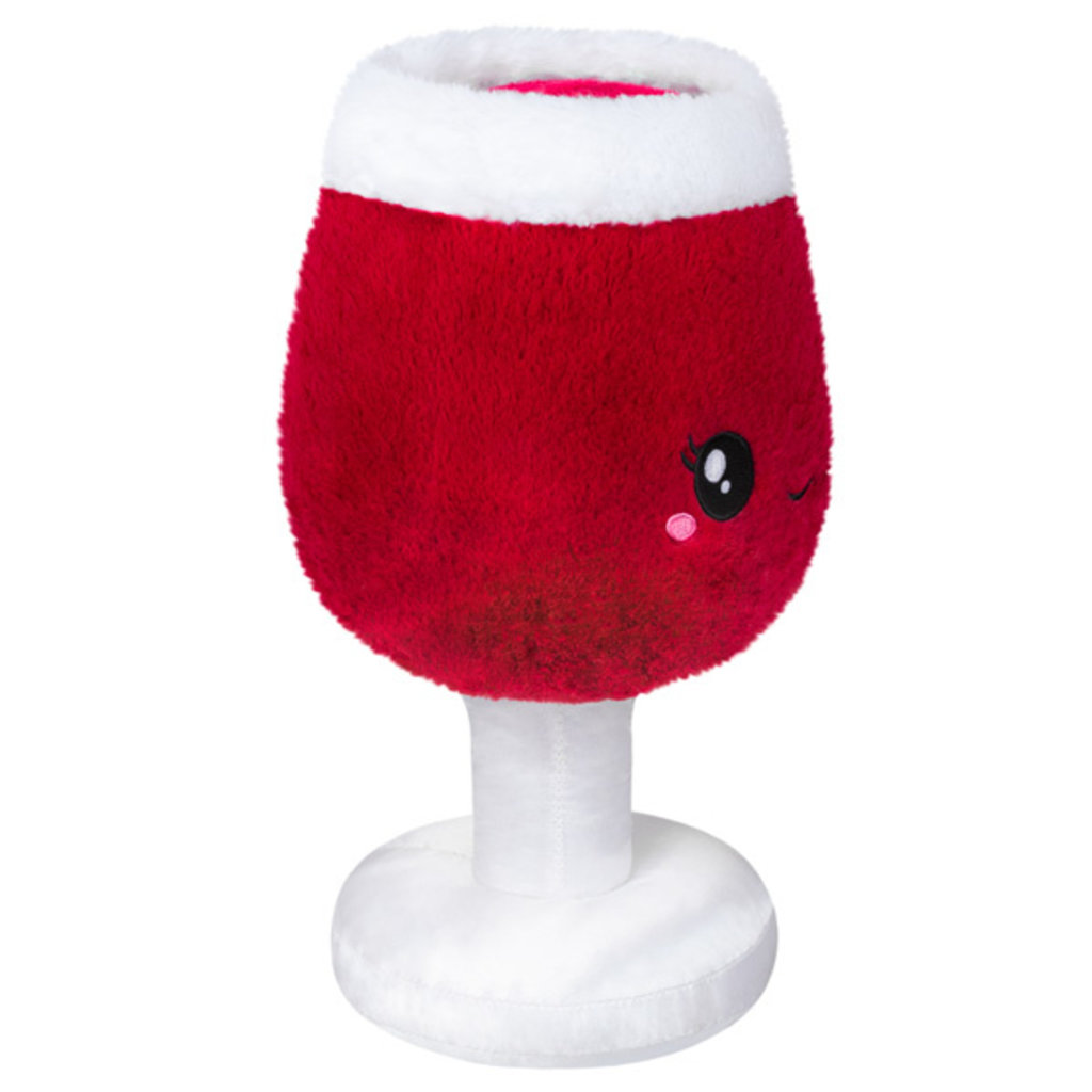 SQUISHABLE MINI RED WINE GLASS SQUISHABLE