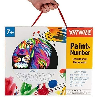 WISE ELK ARTWILLE PAINT BY NUMBER