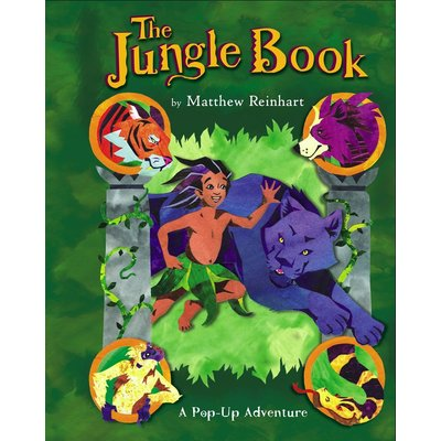 SIMON AND SCHUSTER THE JUNGLE BOOK: A POP-UP ADVENTURE