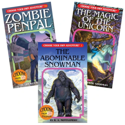 CHOOSE YOUR OWN ADVENTURE CLASSICS