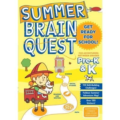 WORKMAN PUBLISHING SUMMER BRAIN QUEST: BETWEEN GRADES PRE-K & K