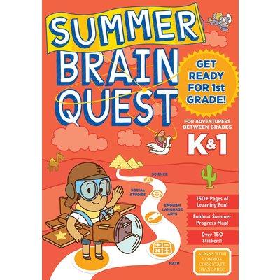 WORKMAN PUBLISHING SUMMER BRAIN QUEST: BETWEEN GRADES K & 1