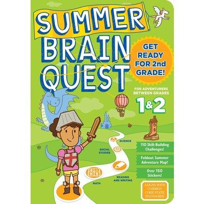 WORKMAN PUBLISHING SUMMER BRAIN QUEST: BETWEEN GRADES 1 & 2