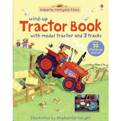 EDC PUBLISHING WIND-UP TRACTOR BOOK