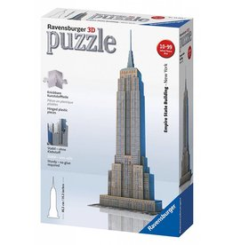 RAVENSBURGER USA EMPIRE STATE BUILDING 3-D PUZZLE*