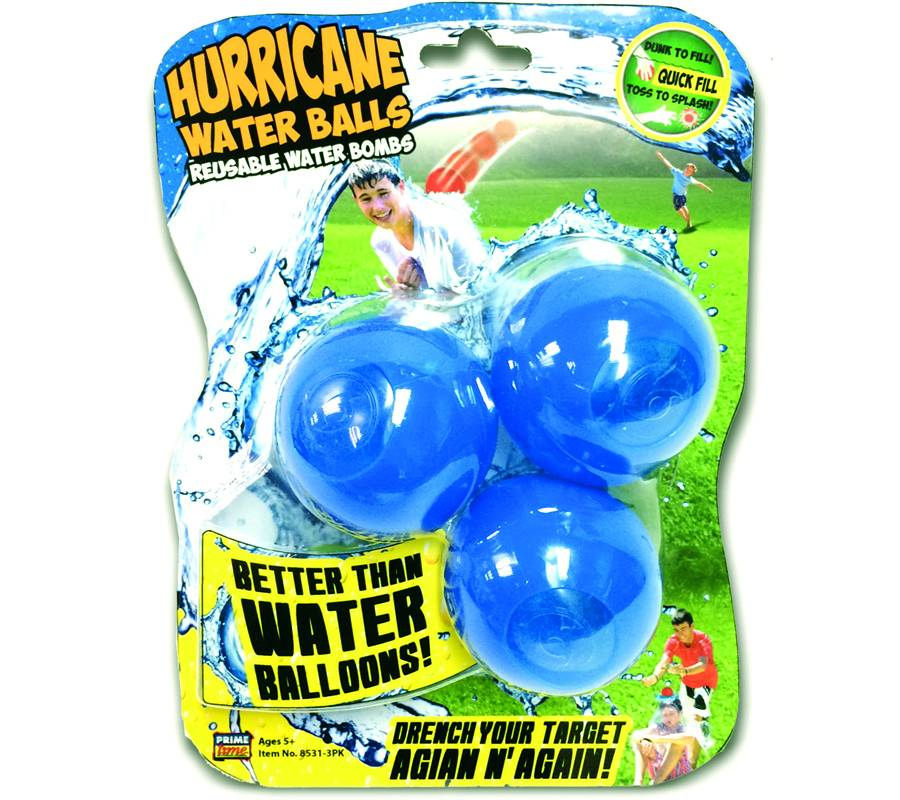 PRIME TIME TOYS HURRICANE WATER BALLS 3-PK
