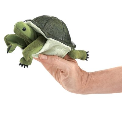 FOLKMANIS INC MINI TURTLE FINGER PUPPET