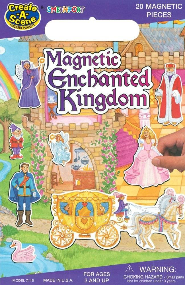 Enchanted Kingdom Create-A-Scene Magnetic Playset