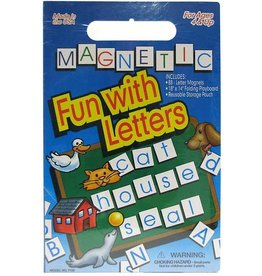 PLAYMONSTER CREATE A SCENE MAGNETIC FUN WITH LETTERS**