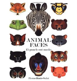 CHRONICLE PUBLISHING ANIMAL FACES PUNCH OUTS