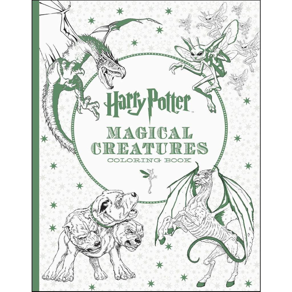 HARRY POTTER MAGICAL CREATURES COLORING BOOK - THE TOY STORE