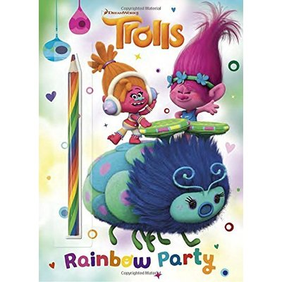 RANDOM HOUSE TROLLS: RAINBOW PARTY COLOR BOOK